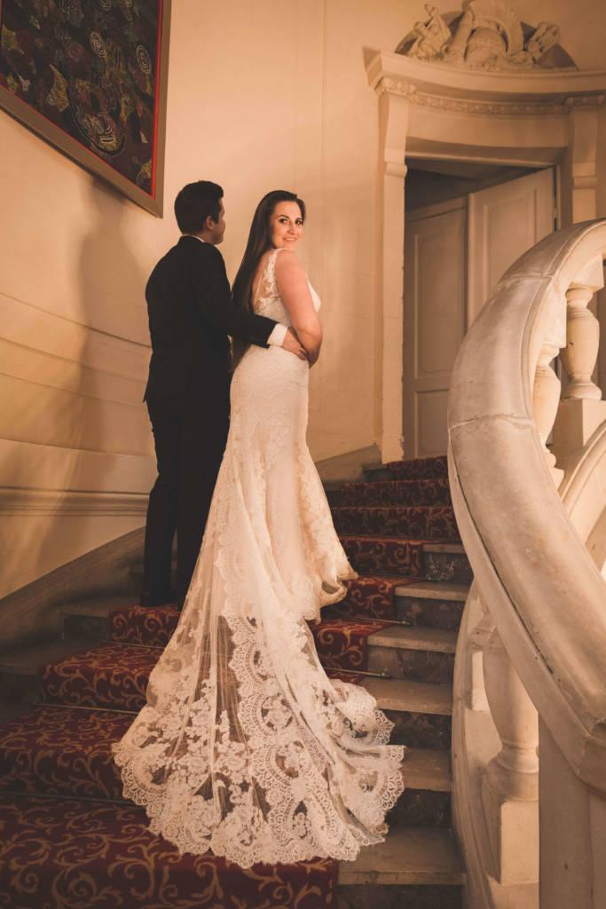 Pamiątkowe fotografie z uroczystości zaślubin